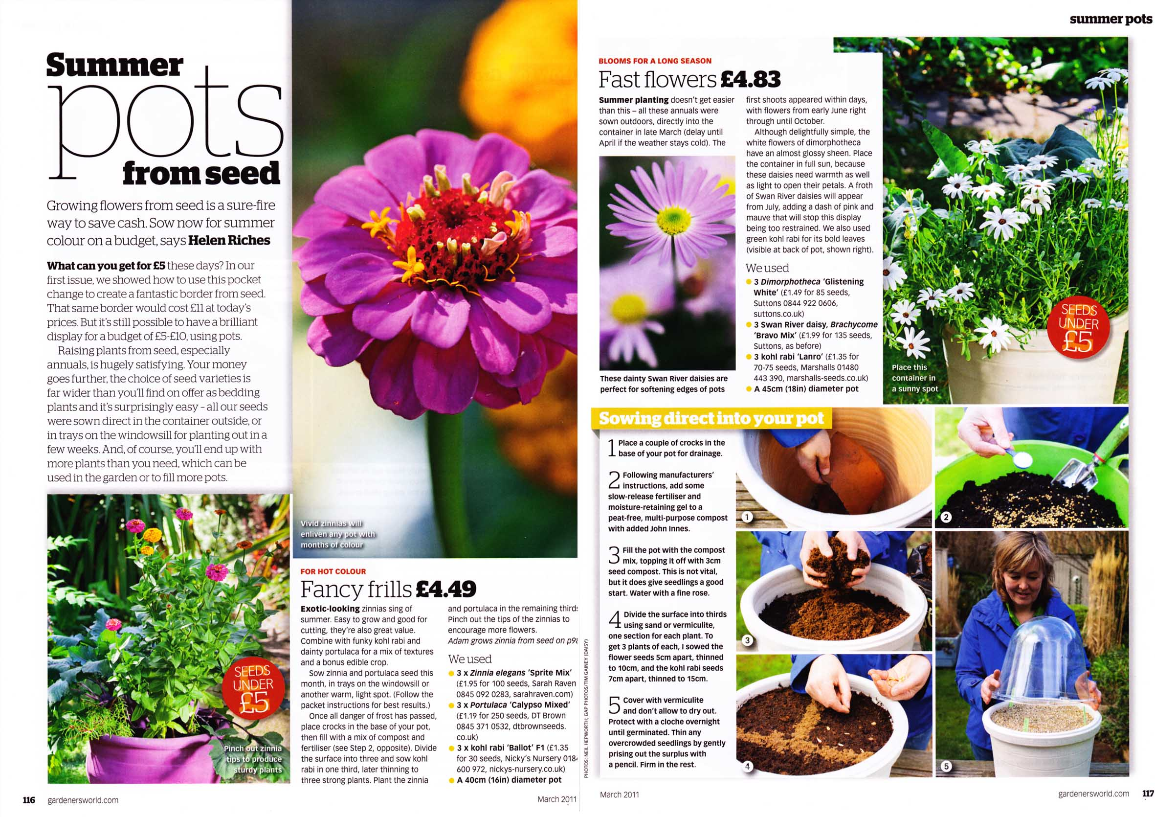 Haxnicks Patio Planters in the Press